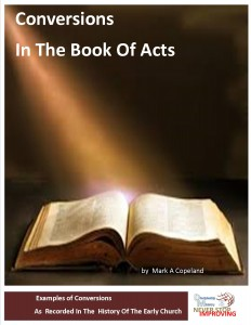Conversions in the Book of Acts - cover